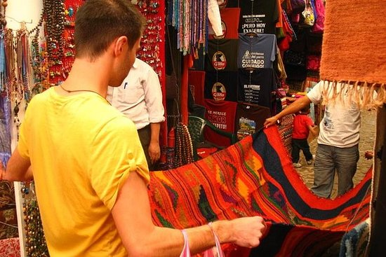 Shopping tur i Guatemala by fra...