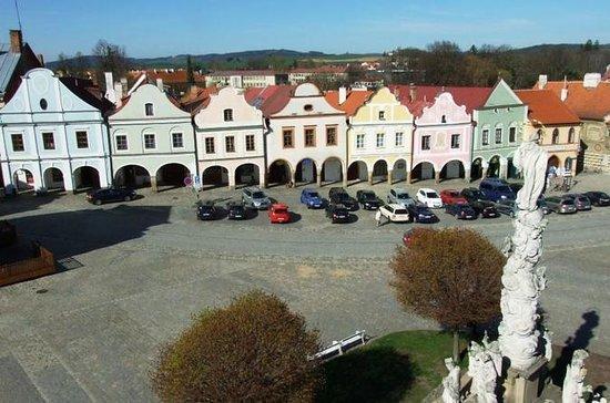 Dagstur fra Praha til UNESCO-byene Trebic og Telc