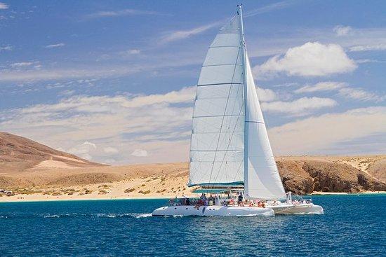 Navegación en catamarán Catlanza en...