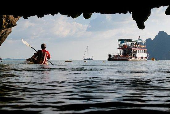Phang Nga Bay一日游皮划艇与普吉岛浮潜选项