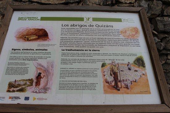 Alquézar, España: Abrigo de Quizans