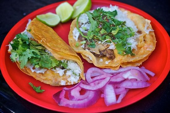 Tacos og Tequila Food Walking Tour i...
