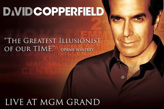 David Copperfield no MGM Grand Hotel...