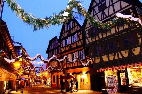 Strasbourg Christmas Market.Alsace Christmas Markets Tour With Local Winery Visit From Strasbourg