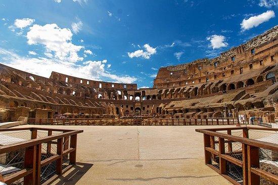 Tor der Gladiatoren und Arena mit...