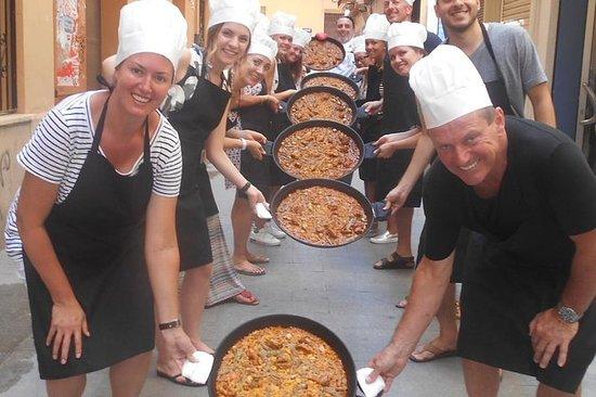 Cours de cuisine de paella à Valence...