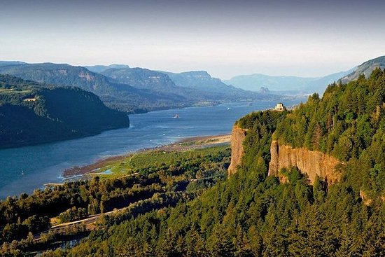 Liten gruppe: Columbia River Gorge...