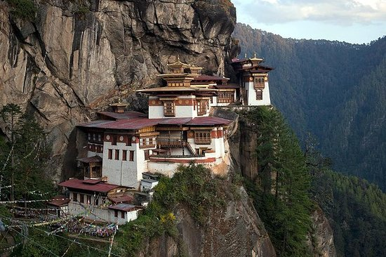 5晚6天不丹之旅的一瞥包括Paro Thimphu和Punakha
