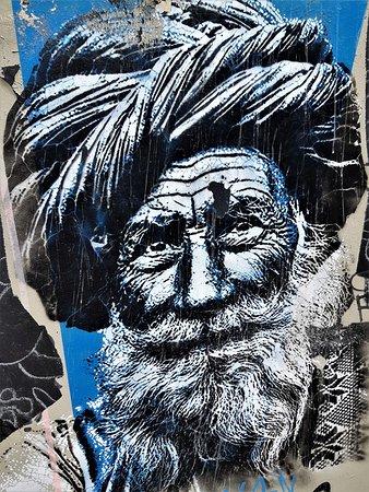 """Fresque """"Le vieil homme"""""""