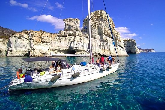 Milos Sailing Tour with snorkeling...
