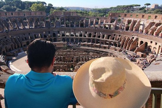 Skip the Line Colosseum Tour with Roman Forum: Colosseum Belvedere Top Levels Tour