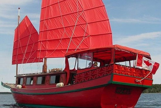 Sunset Chinese Junk Boat Tour In...