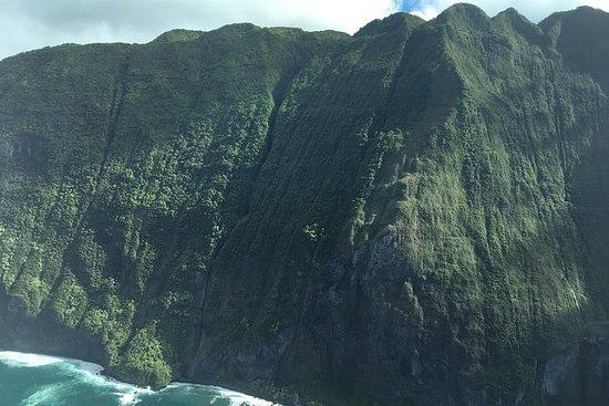 莫洛凯岛空中游览的辉煌海崖 - 卡胡卢伊出发