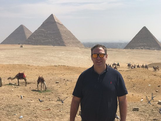 Private Guided Tour for Families to Saqqara Dahshur and Giza including Camel Ride and Lunch from Cairo: Eman could take a photo, which is the only good thing I can say...