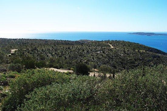 Vouliagmeni à pied et le tour du lac