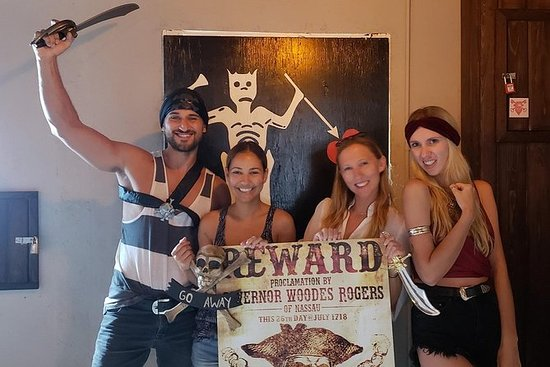 Pirate Themed Escape Room Experience in Downtown Nassau 사진
