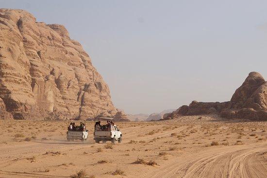 Wadi Rum Desert Eyes