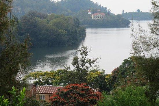 キブ湖を発見。ルワンダ