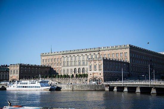 Det kongelige slott i Stockholm...