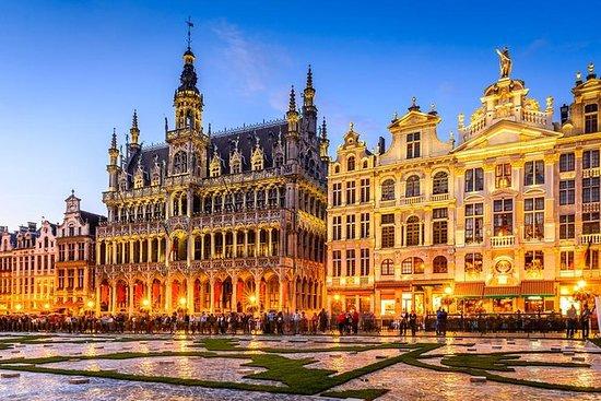 Ghent og Brussel avgang fra Brugge