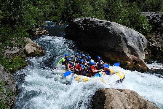 Rafting sur Cetina en petit groupe...