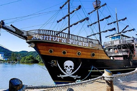 Combo Barco Pirata,Praia e Parque...