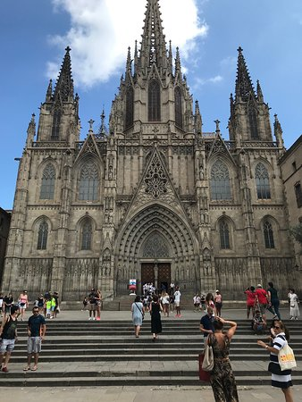 Karta Over Sevardheter I Barcelona.Barcelona Cathedral Spanien Omdomen Tripadvisor