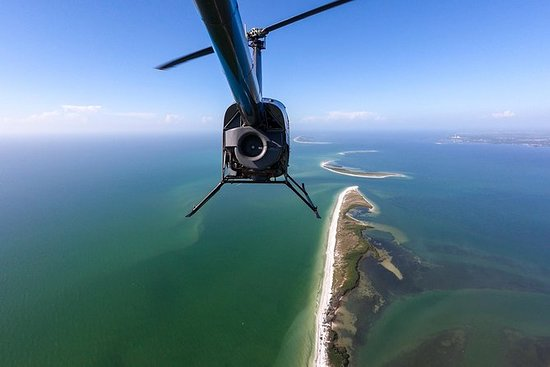 Helicopter Tour of Clearwater...