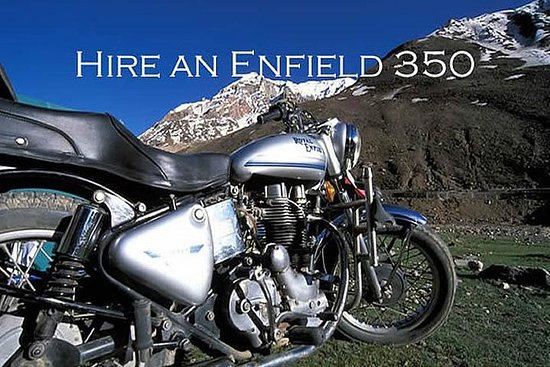 ENFIELD 350 cc Leie i Manali en...