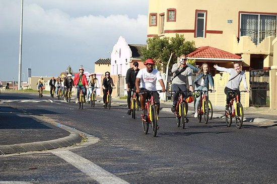 Paseo en bicicleta por el municipio