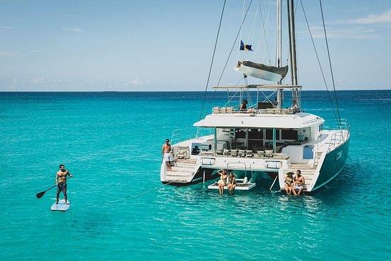 Cruzeiro de catamarã de luxo Barbados