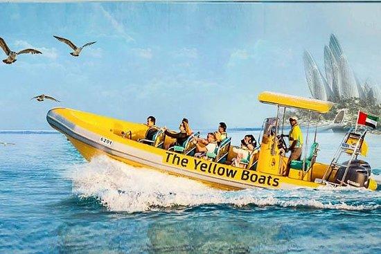 Yellow Boat Ride Dubai Marina