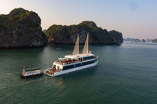 Jade Sails - Halong Bay Luxury Day Cruise from Hanoi