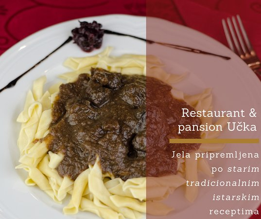 Try our delicious goulash.