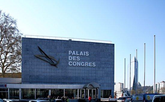 L'entrée du palais des Congrès de Liège