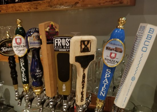 Derby Line Village Inn Austrian Restaurant: Great German Drafts  Friday Nights Life Music and Schnitzel and Wings