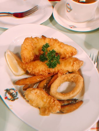 Awesome fish and chips!