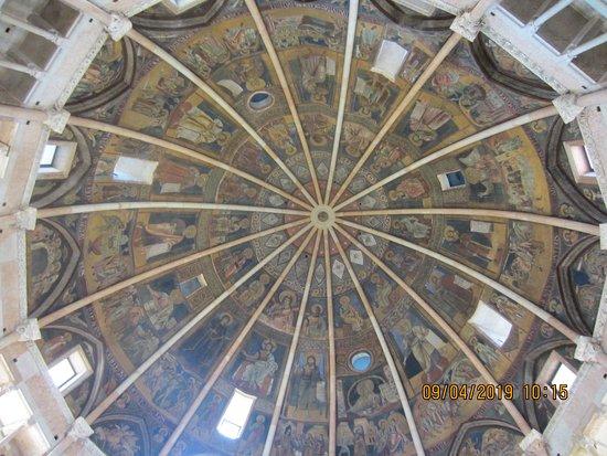 Battistero di Parma: cupola