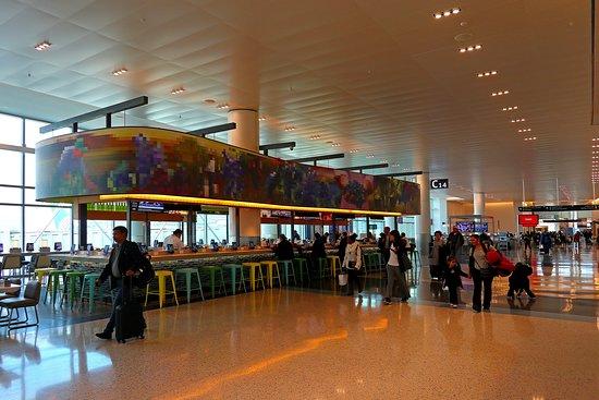 United Airlines: UA374 IAH to MSY - Houston International Airport - OLIO Panini Bar