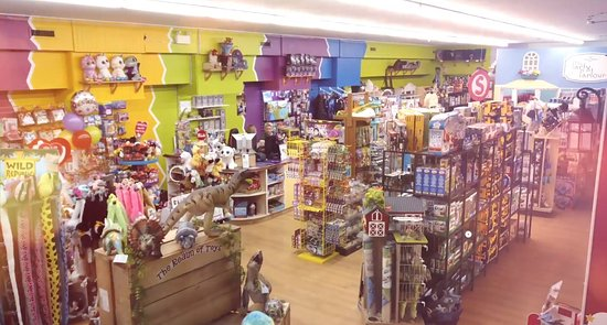 The Realm of Toys and the Nerd Corner