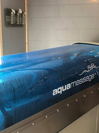 Lynchburg Springs Aqua Massage: Great way to get a full body massage with your clothes on.