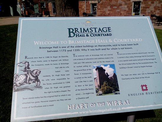 Brimstage, UK: History of the hall