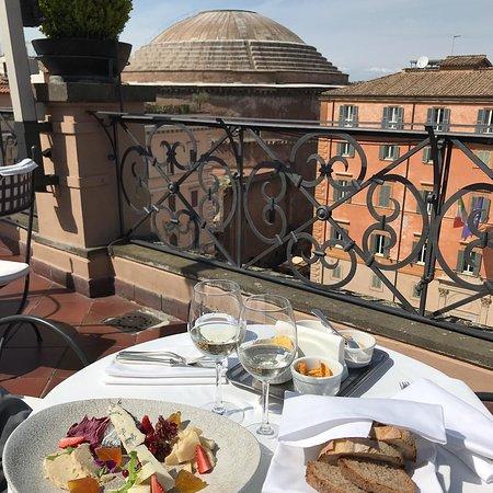 Minerva Roof Restaurant Rome Pigna Menu Prices