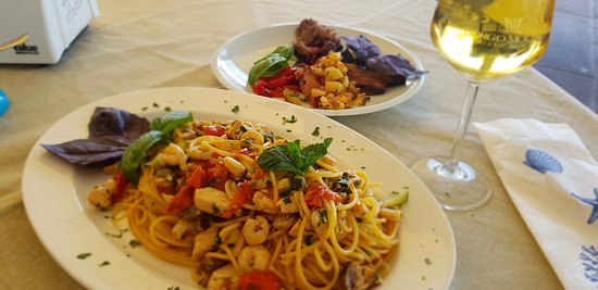 Spaghetti Pesce Spada e Mentuccia
