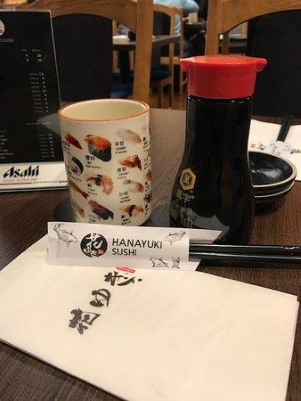 Hanayuki Sushi chopsticks.