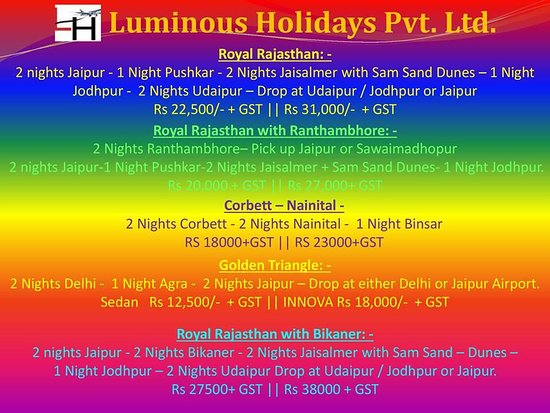 Luminous Holidays