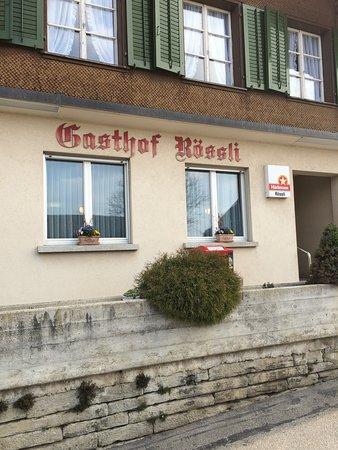 Gondiswil, Schweiz: Eingang