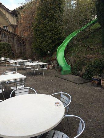 Gondiswil, Schweiz: Gartenrestaurant