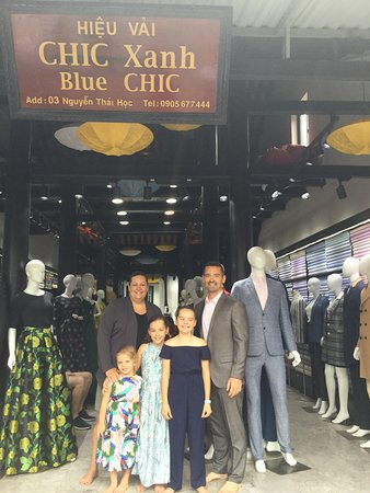Blue Chic Tailor