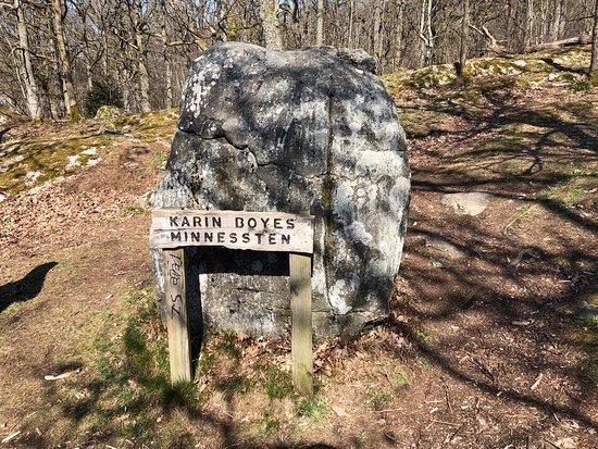 Alingsas, Suecia: Karin Boyes minnessten
